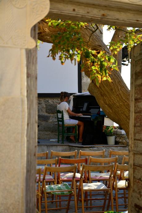Naxos, wachten op publiek