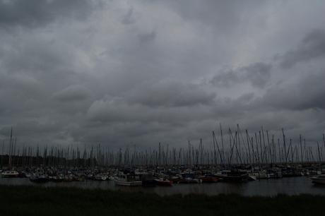 Storm in de haven