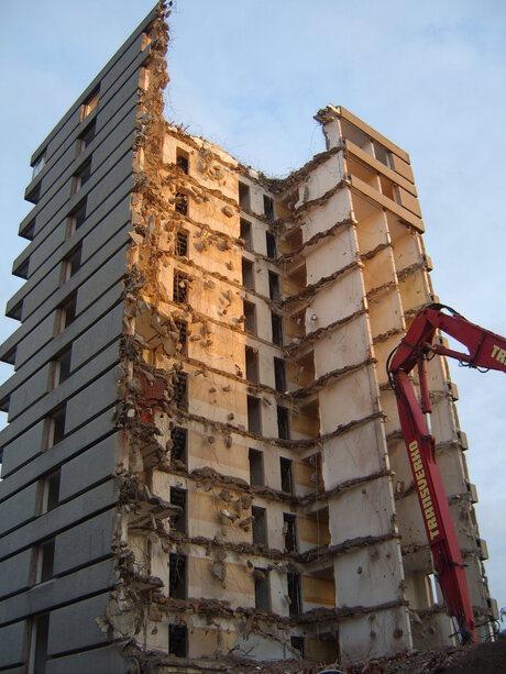 Demolition time