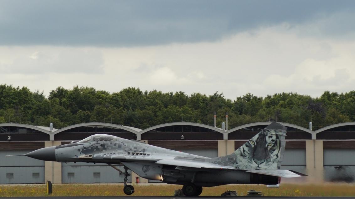 MIG-29 - Buitenaards Geweld! - foto door Sonyjoenka op 22-06-2014 - deze foto bevat: vliegtuig