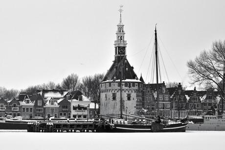 De hoofdtoren te Hoorn
