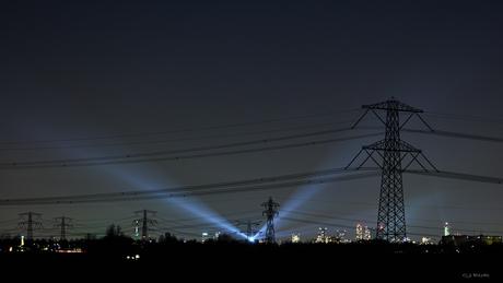 Rotterdam in licht