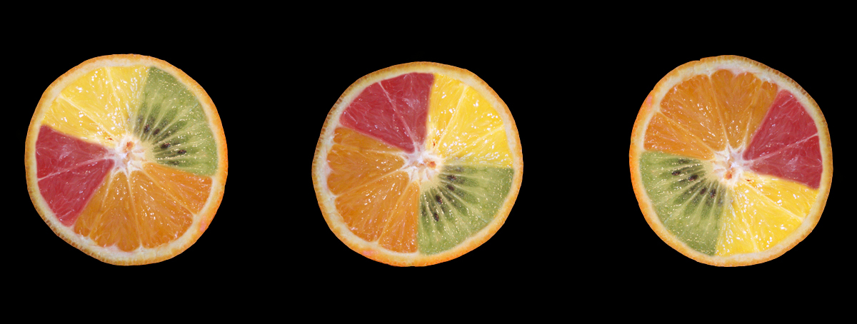 Vitamines - Toen ik m'n fruitontwerpje op een andere pc bekeek zag ik inderdaad een schijn rond m'n foto ... op m'n eigen scherm was dit pikzwart, maar op een an - foto door creastof op 18-01-2008 - deze foto bevat: fruit, vitamine, smaak, appelsien