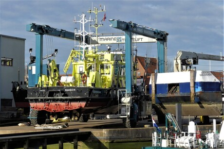 P1140209 Maassluis Werf de Haas scheepslift 24 feb 2021