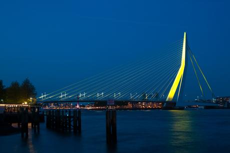 Rotterdam by night!