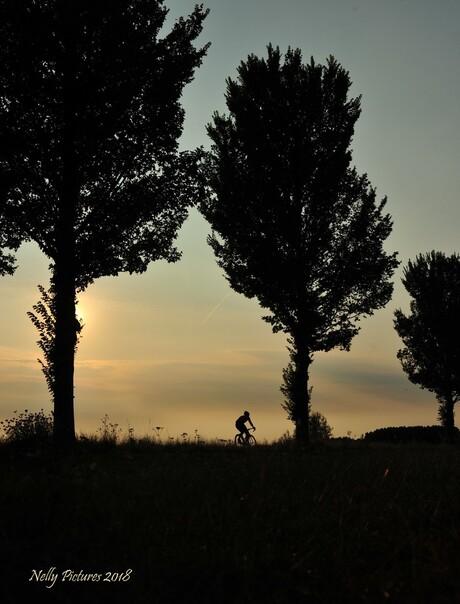Hoe sterk is de eenzame fietser ...