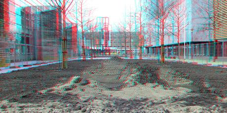 beplanting Prins Alexanderplein 2021 Rotterdam 3D