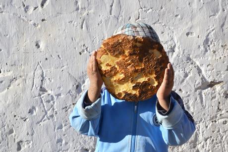 Shy boy in Tadjikistan