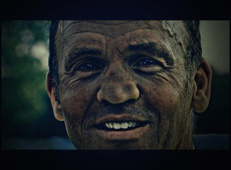 old mine worker..
