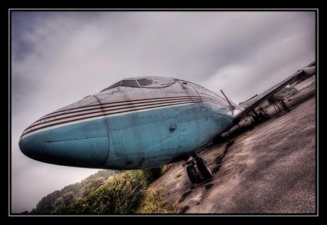 Urbex plane