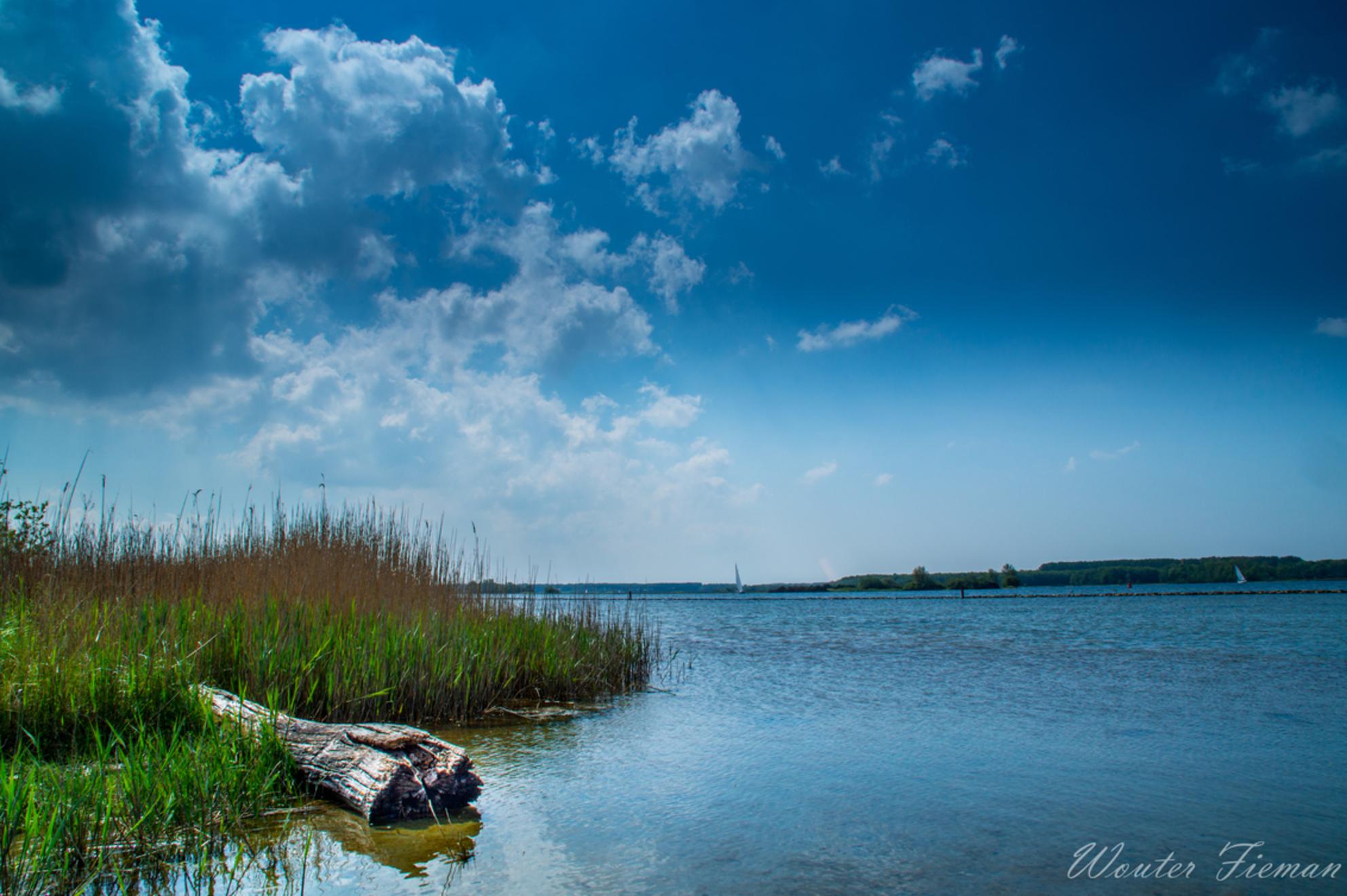 Daar aan de waterkant - - - foto door wouterfieman op 04-05-2020 - deze foto bevat: lucht, boom, water, landschap, zeeland, holland, veere, sky, veersemeer
