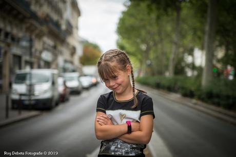 Little girl in Paris!