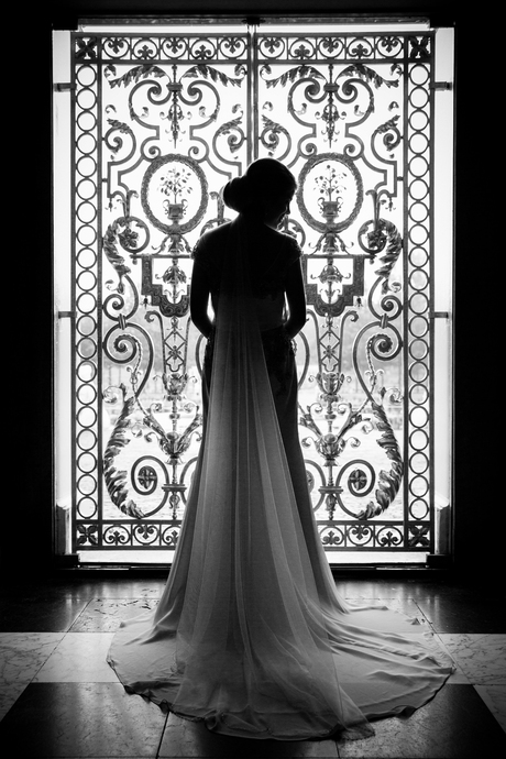 Bride silhouet