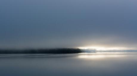 Licht en donker Alaska haines fjord