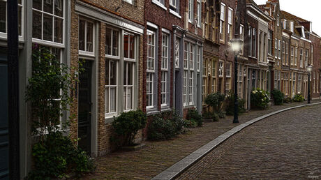Straatje in Dordrecht