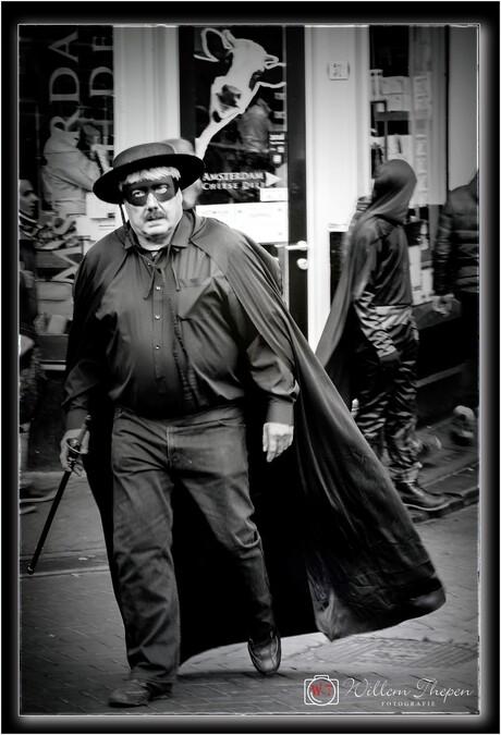 Zorro in Amsterdam