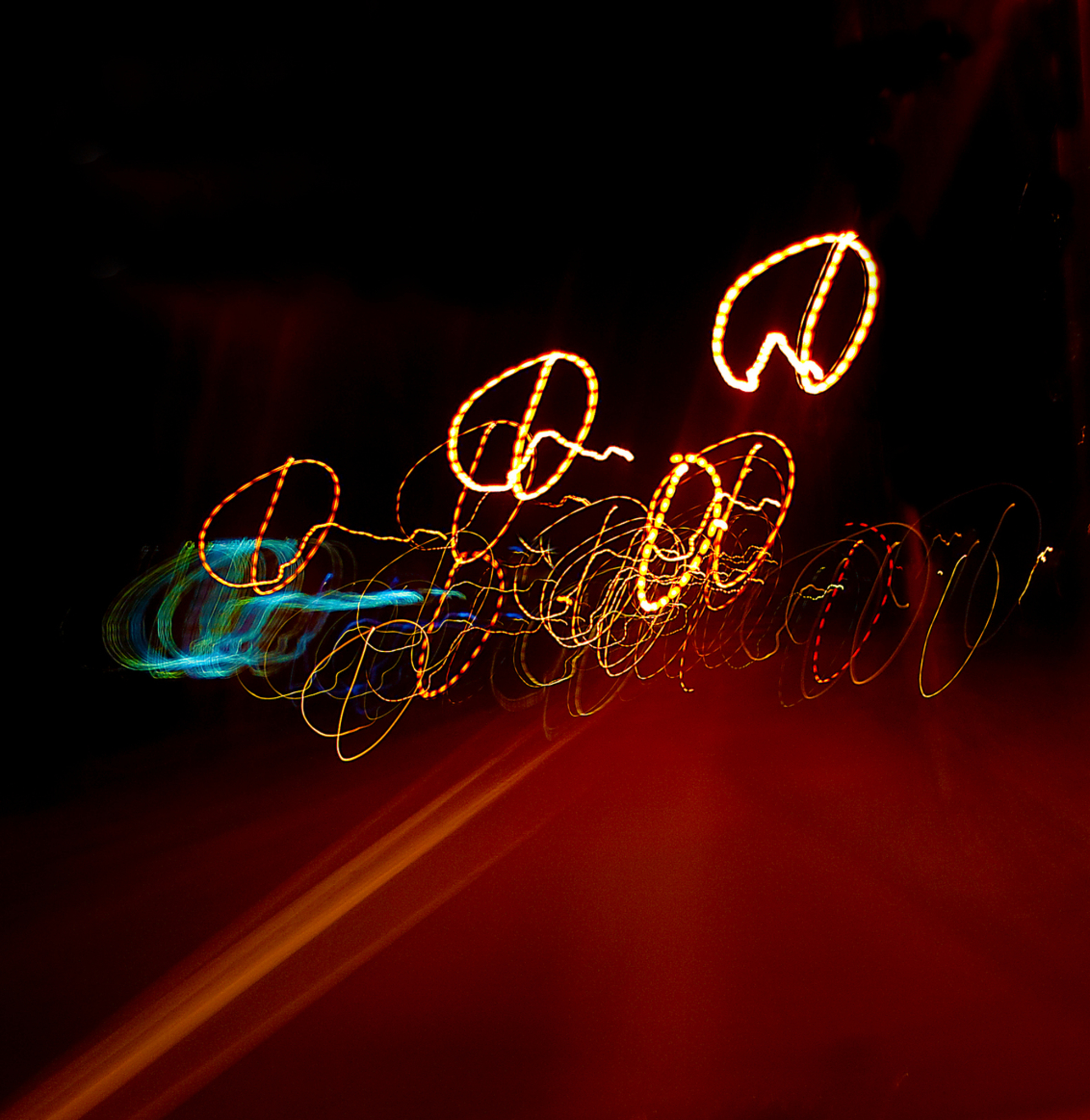 onderweg - licht effecten - foto door markhdevos op 28-10-2011 - deze foto bevat: nacht fotografie