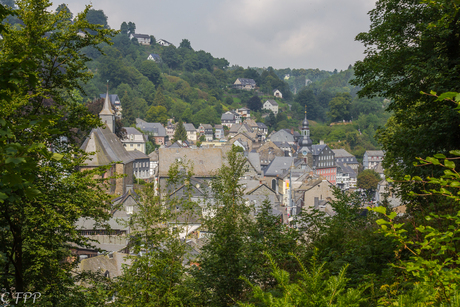 Monchau , Eifelgebergte Duitsland