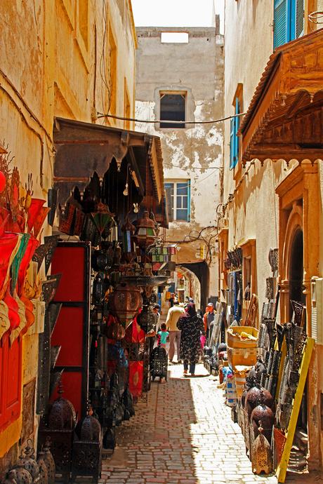 Straatje Essaouira (Marokko)