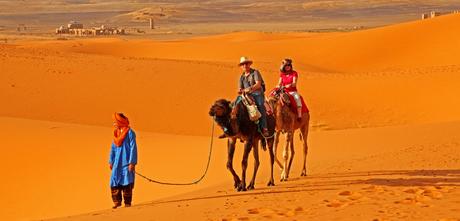 Sahara traffic, Merzouga (Marokko)
