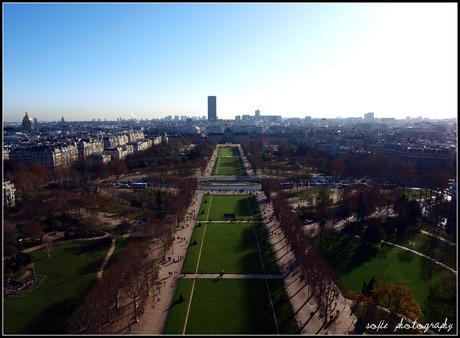 Uitzicht Eiffeltoren