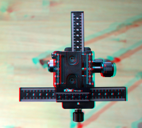Kiwi FC-1II Macro Focusing Rail 3D