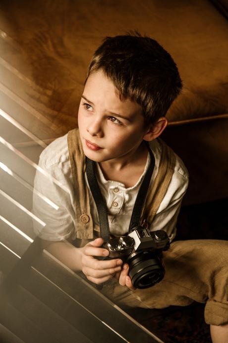De jonge fotograaf