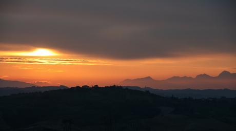 Toscany Sunset