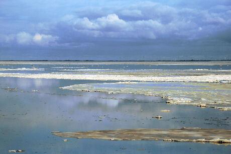 IJs en stilte aan de kust