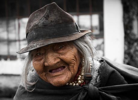 Ecuadoriaanse vrouw