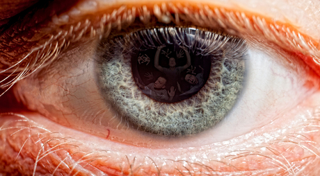 look into the eye