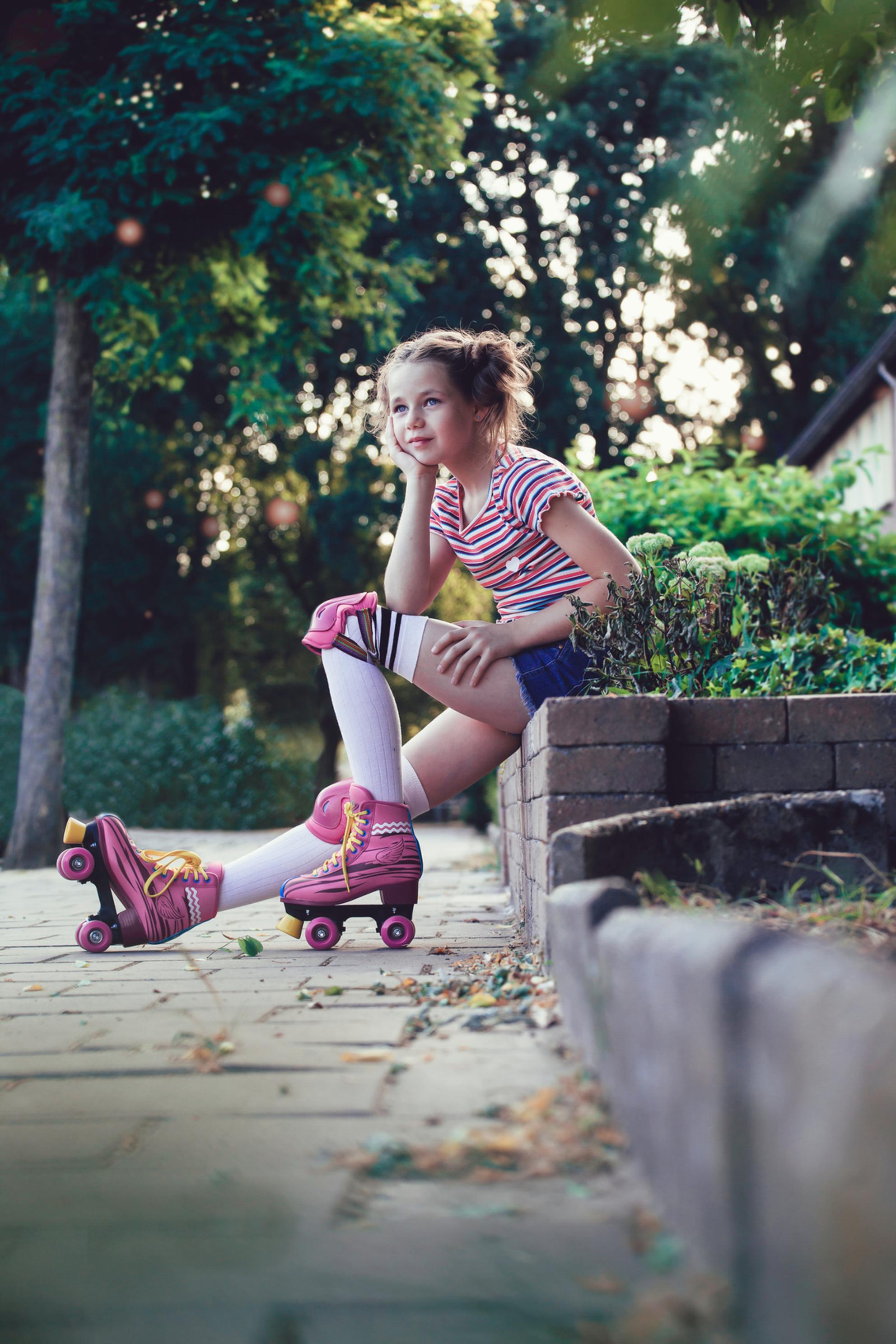 rollerskates - Model Zoe - foto door GabriellaVerkaik op 28-02-2021 - Deze foto mag gebruikt worden in een Zoom.nl publicatie