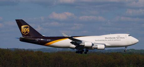 UPS Boeing 747