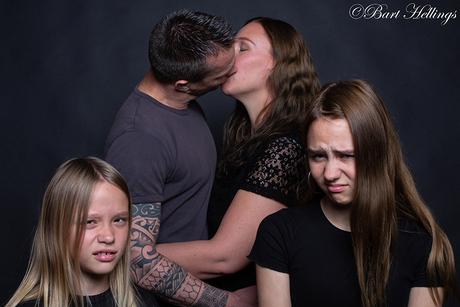 Familieportret, maar dan anders.