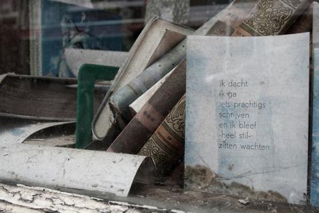 Abandoned bookstore
