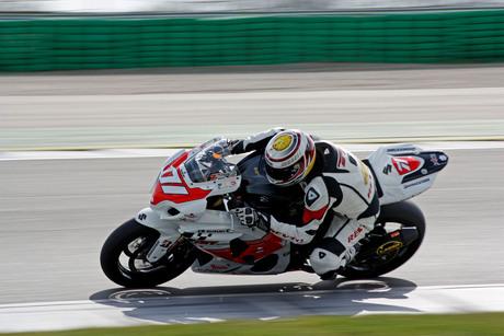 Superbike op snelheid