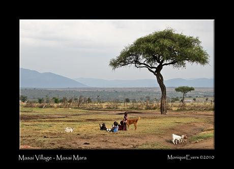 Masai Village - Masai Mara