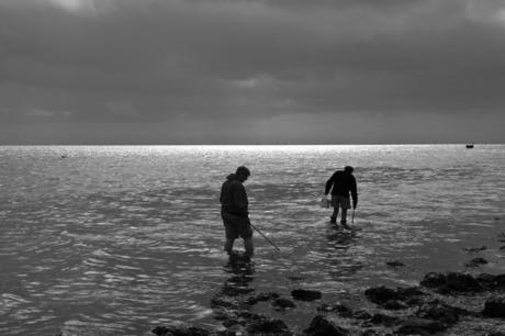 Eenzame vissers