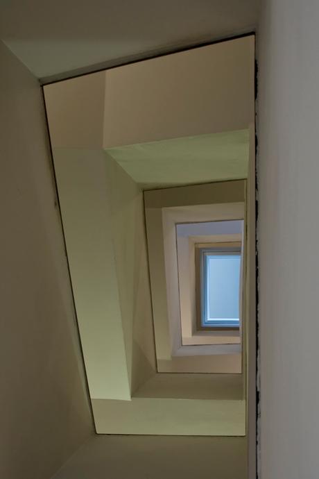 van onder, trap