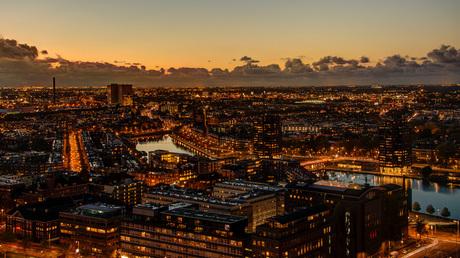 Rotterdam - Coolhaven vanaf de Euromast