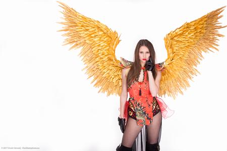 Vip Angel - Foto gemaakt voor Vip Angels promotion team - foto door everweij_zoom op 29-01-2017 - deze foto bevat: vrouw, licht, reclame, model, flits, fashion, meisje, beauty, sfeer, pose, studio, belichting, jurk, mode, fotoshoot, kleding, visagie, makeup, commercial, styling, fashionfotografie