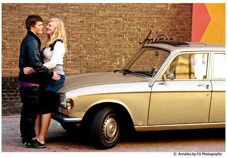 Old times with oldtimer