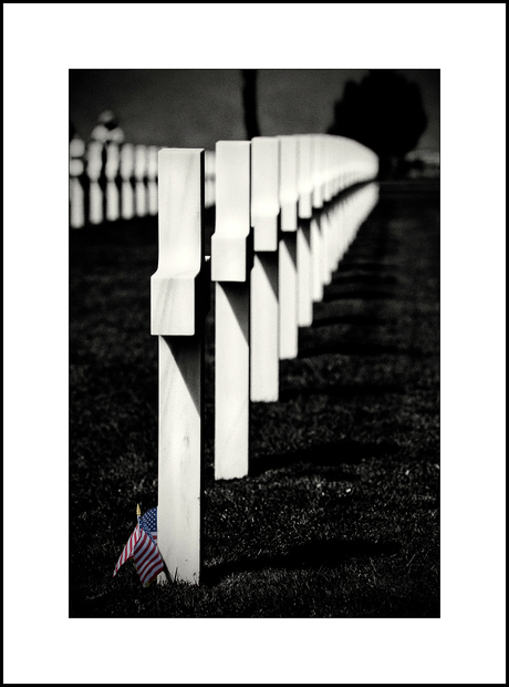 Normandië 10, Amerikaanse begraafplaats 3