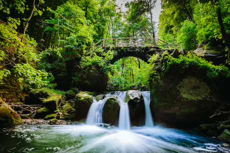 Schiessentümpel waterfalls