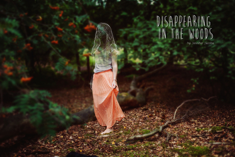 Disappearing in the woods