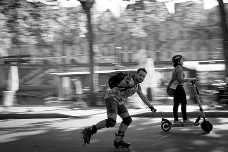 Snelheid in Parijs