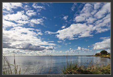 Hollandse luchten boven 't IJsselmeer