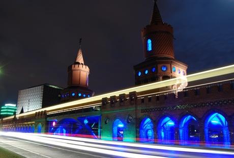 Berlijn - Festival of Lights - Oberbaumbrucke 3
