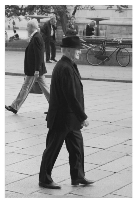 Man Passing By