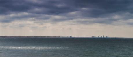 Golden spot at Zandvoort's shore